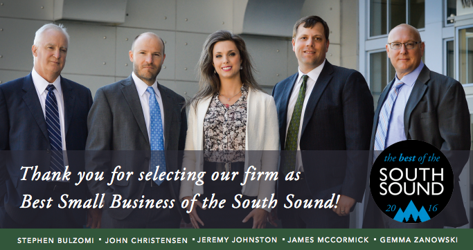 Evergreen Personal Injury Counsel South Sound Magazine