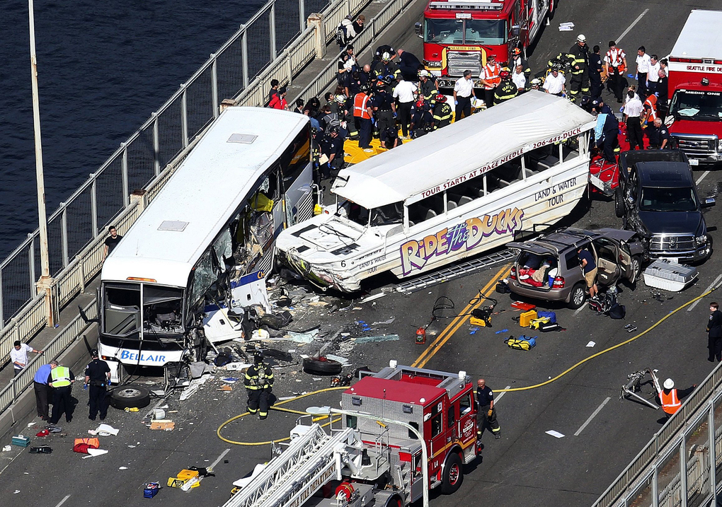 Seattle duck boat crash by the Seattle Times