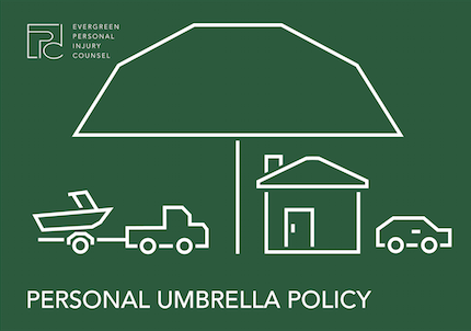Umbrella Policy insurance graphic