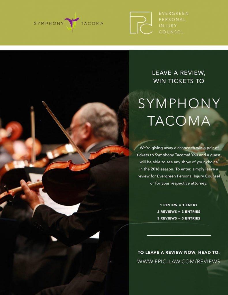 EPIC sponsors Symphony Tacoma