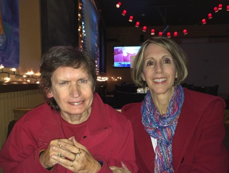 Maryann Stallone and sister Catherine McIvor