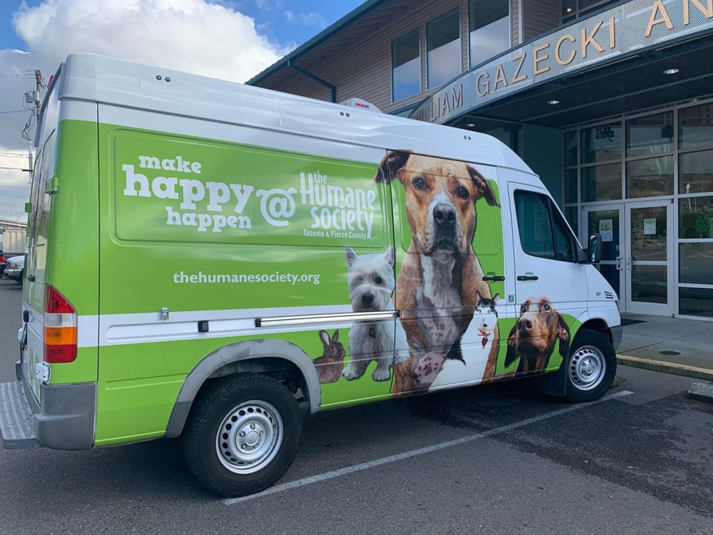 Humane Society Van