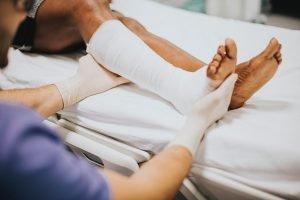 Injured Leg Treatment