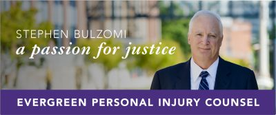 Tacoma injury attorney Stephen Bulzomi