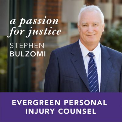 Stephen Bulzomi's Passion for Justice