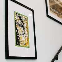 Framed Tacoma map prints at EPIC Law