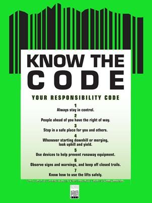 Skier Responsibility Code
